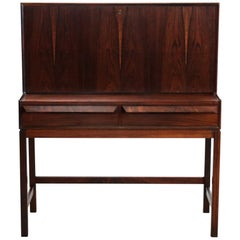 Rosewood Secretary by Torbjørn Afdal for Bruksbo Melemstrands, Norway, 1960