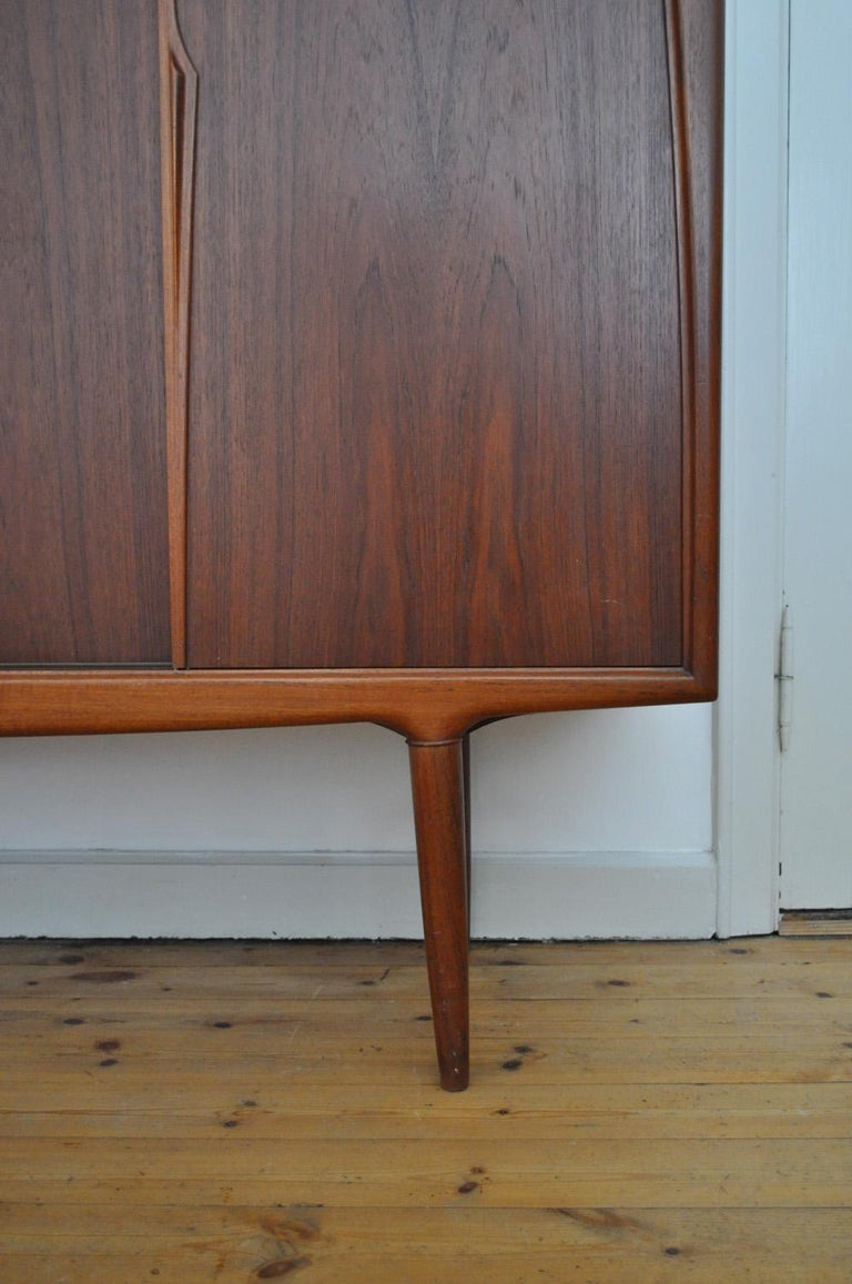 Rosewood Sideboard by Axel Christensen for Aco Møbler in the 1960s In Good Condition For Sale In Vordingborg, DK