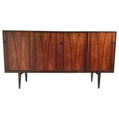 Rosewood Sideboard by Henry Rosengren Hansen, 1960's, Denmark