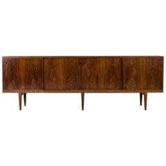 Rosewood Sideboard by Henry Rosengren Hansen for Brande Møbelindustri, Denmark.