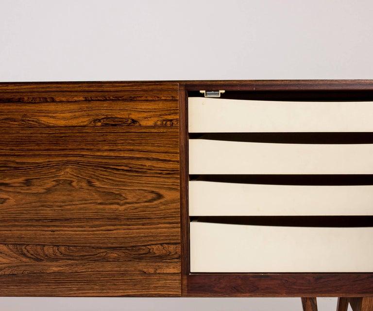 Rosewood sideboard by Ib Kofod Larsen For Sale 4