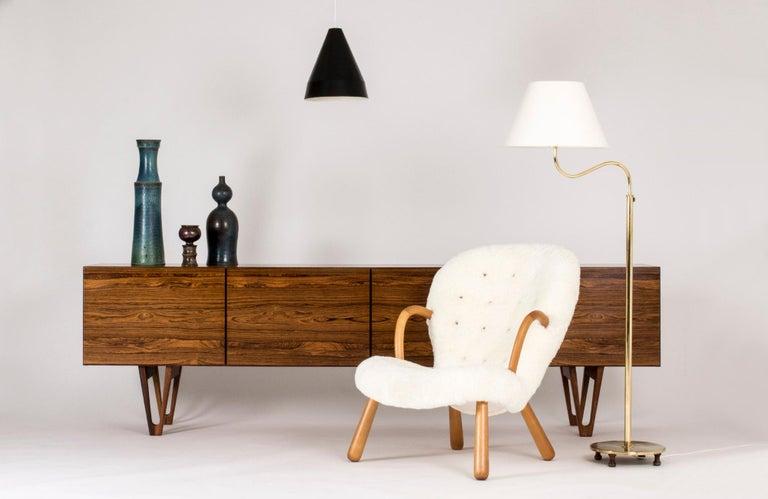 Rosewood sideboard by Ib Kofod Larsen For Sale 5