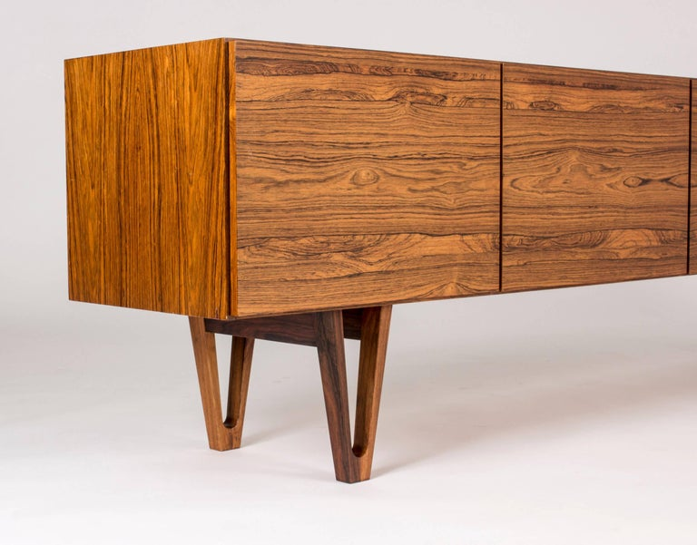 Mid-20th Century Rosewood sideboard by Ib Kofod Larsen For Sale