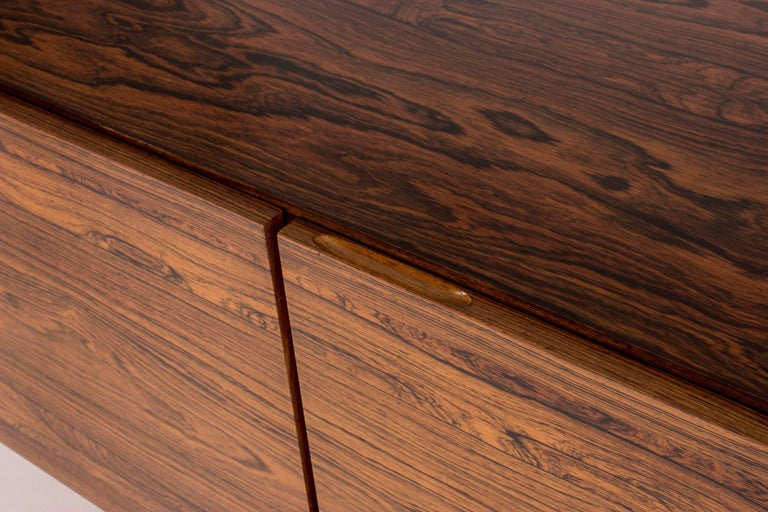 Rosewood sideboard by Ib Kofod Larsen For Sale 2