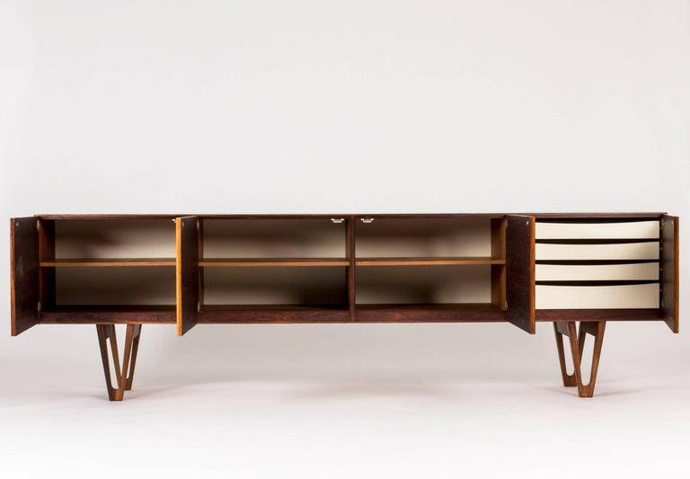 Rosewood sideboard by Ib Kofod Larsen For Sale 3