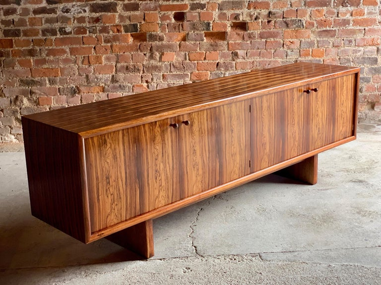 Rosewood Sideboard or Buffet Gordon Russell Martin Hall Marlow Range, 1970 For Sale 5
