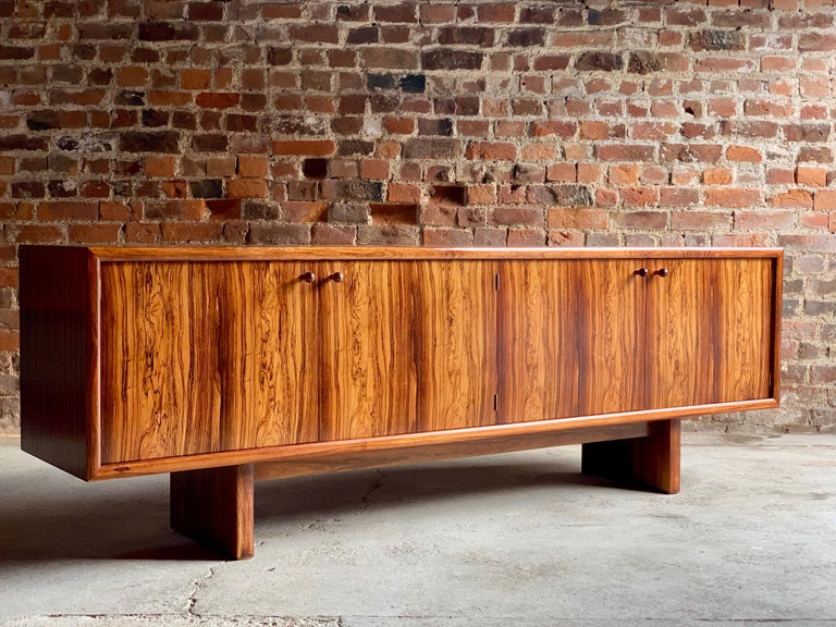 English Rosewood Sideboard or Buffet Gordon Russell Martin Hall Marlow Range, 1970 For Sale