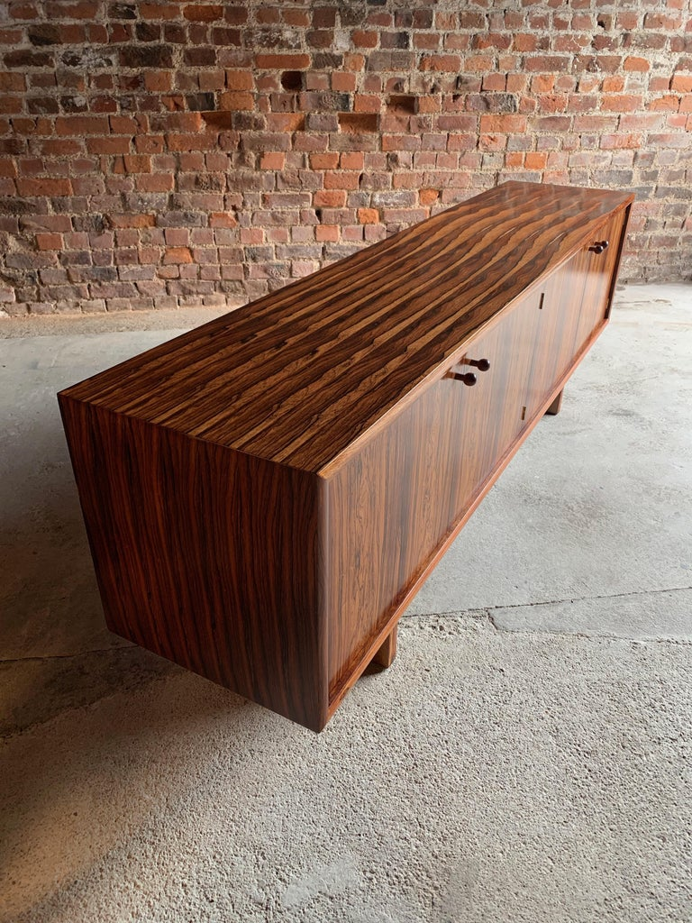Late 20th Century Rosewood Sideboard or Buffet Gordon Russell Martin Hall Marlow Range, 1970 For Sale