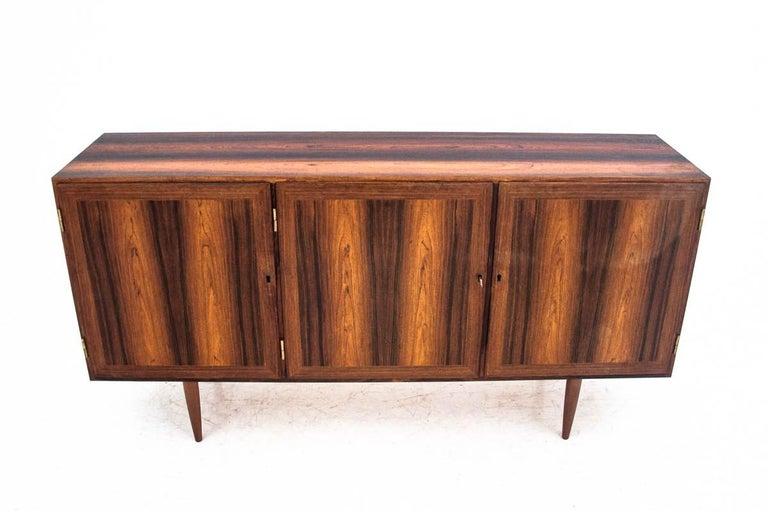Scandinavian Modern Rosewood Sideboard, Denmark, 1960s For Sale