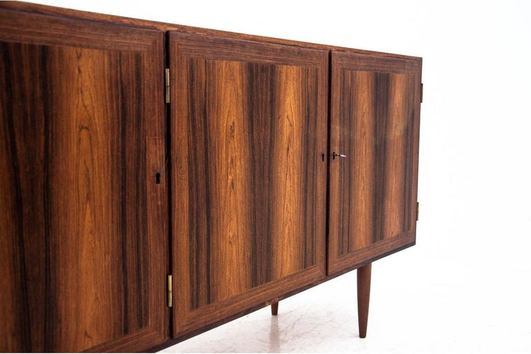 Mid-20th Century Rosewood Sideboard, Denmark, 1960s For Sale
