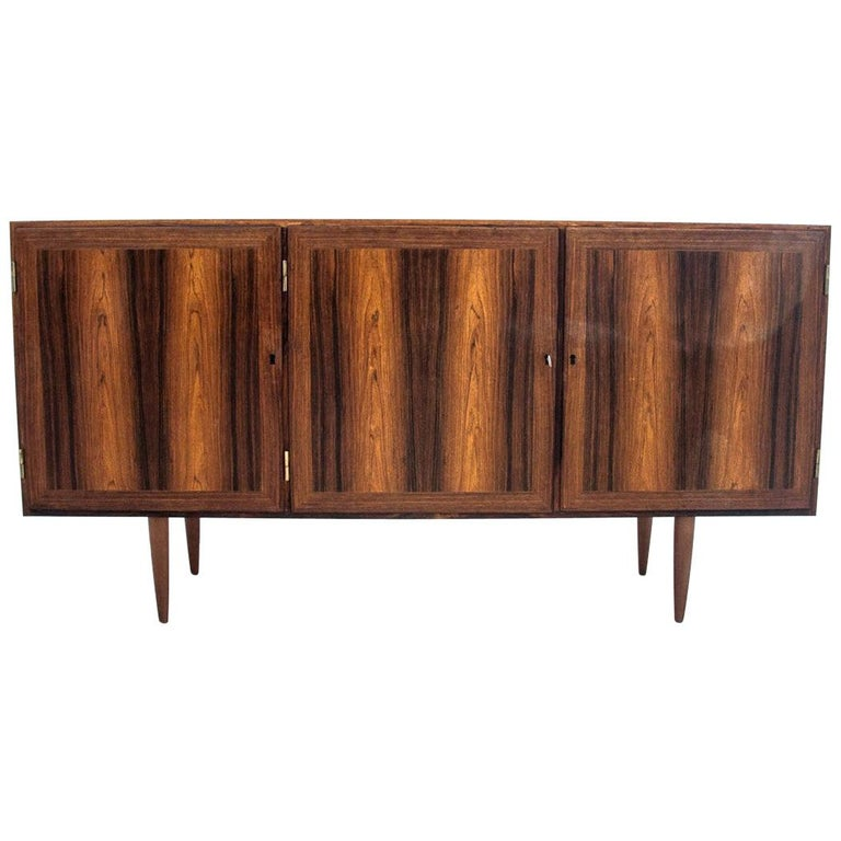 Rosewood Sideboard, Denmark, 1960s For Sale