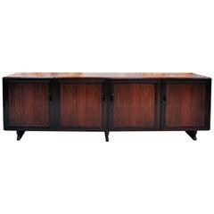Rosewood sideboard MB15 by Franco Albini for Poggi, 1957