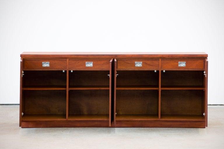 Mid-Century Modern Rosewood Sideboard Minimal Design, Denmark, 1960s For Sale