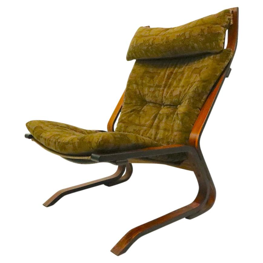 Rosewood Siesta Lounge Chair by Ingmar Relling for Wastnofa
