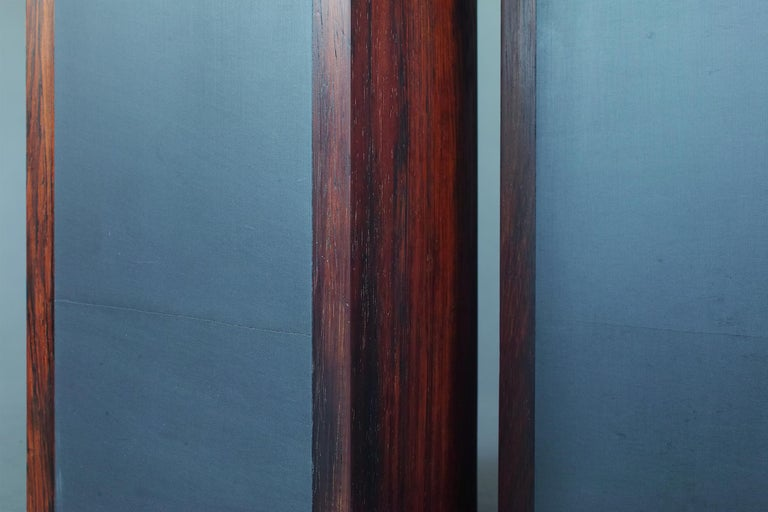 Rosewood and Slate Lamps by Harpswell House For Sale 2
