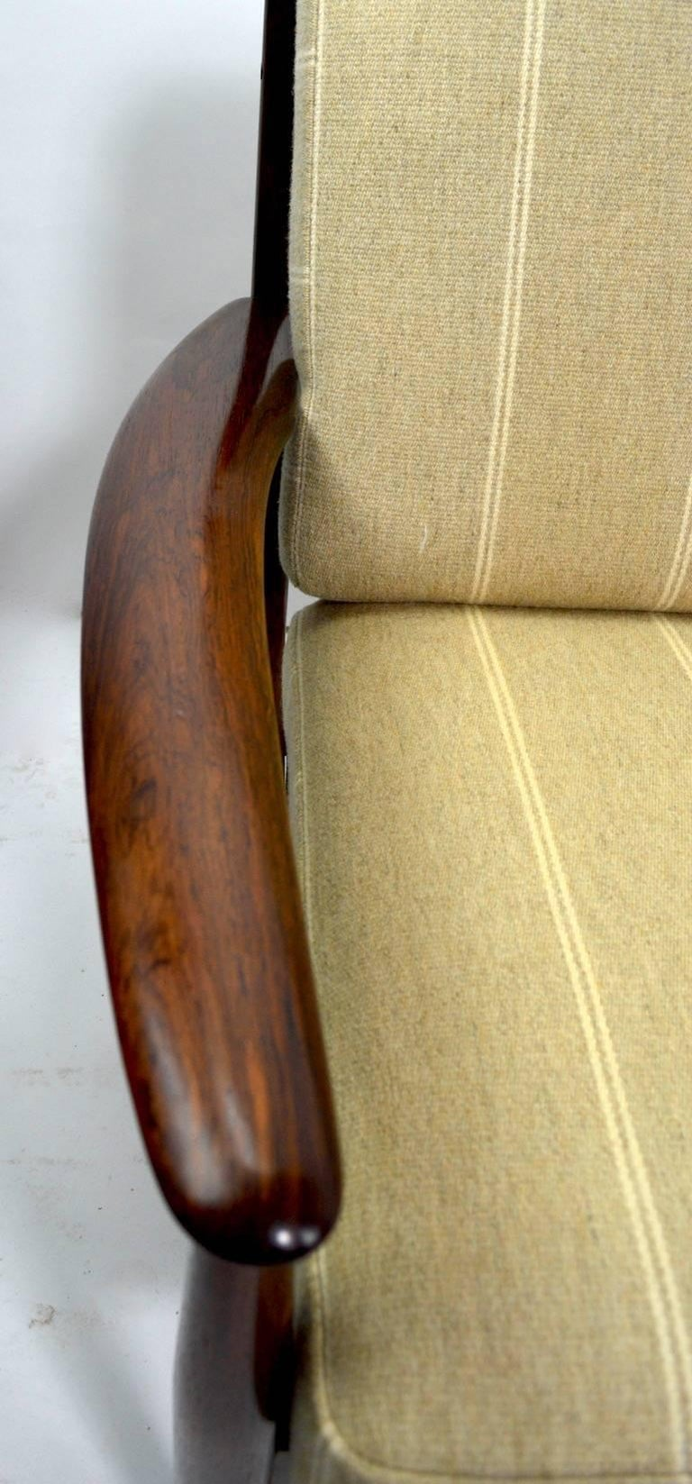 Rosewood Sofa by Grete Jalk for France and Son For Sale 4