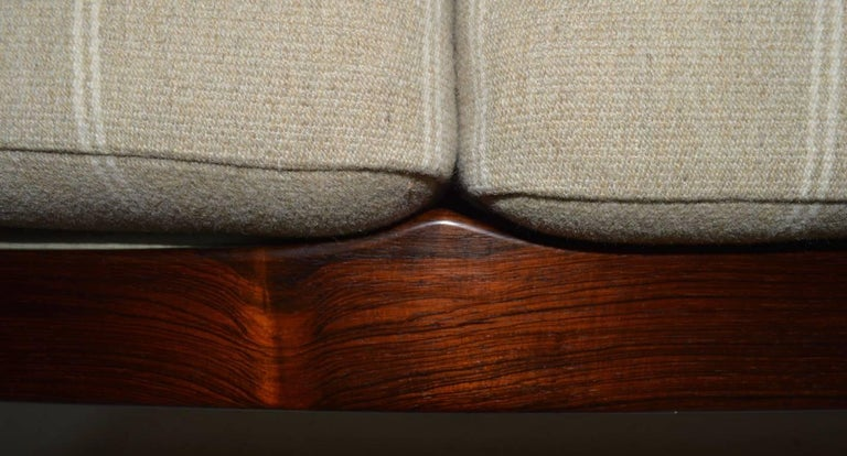 Rosewood Sofa by Grete Jalk for France and Son For Sale 6