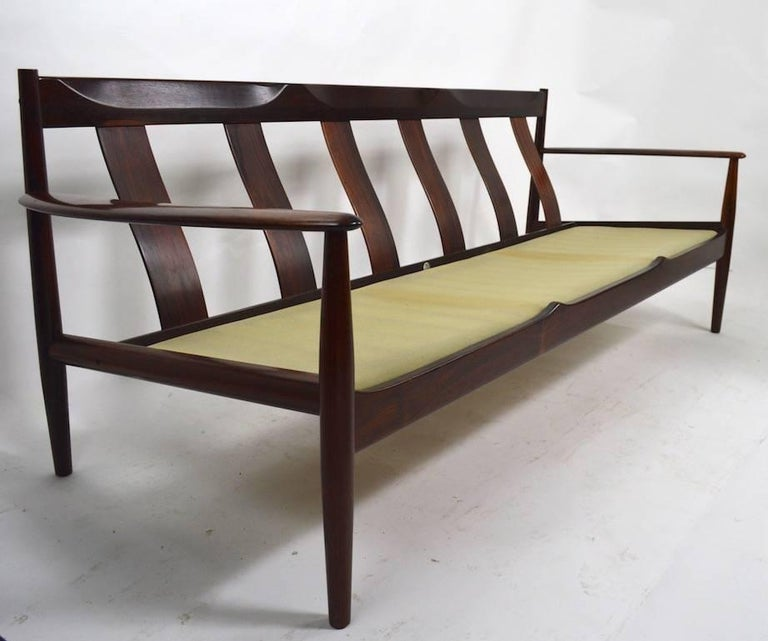 Danish Rosewood Sofa by Grete Jalk for France and Son For Sale