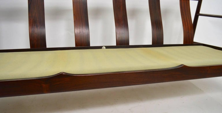 Rosewood Sofa by Grete Jalk for France and Son In Excellent Condition For Sale In New York, NY