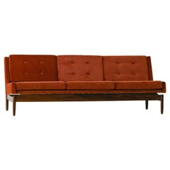 Rosewood Sofa by Móveis Cantù, 1960s, Brazilian Midcentury
