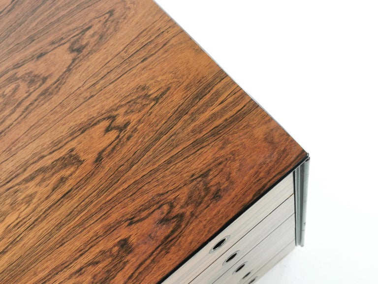 20th Century Rosewood Staples Deauville Chest of Drawers Vintage Mid Century, 1960s