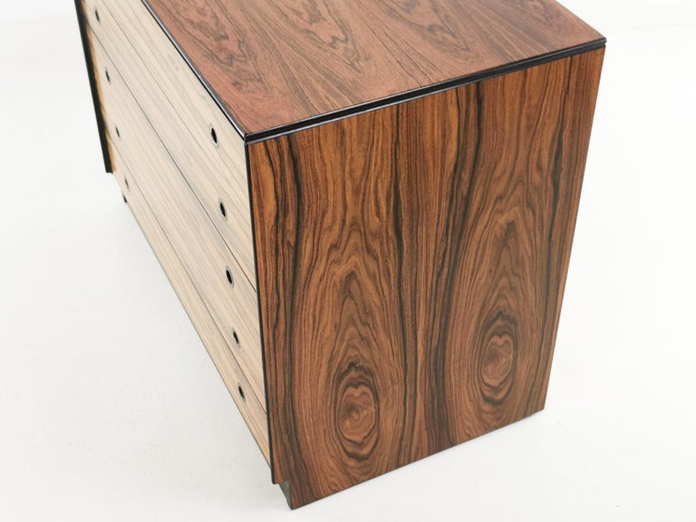Rosewood Staples Deauville Chest of Drawers Vintage Mid Century, 1960s 2
