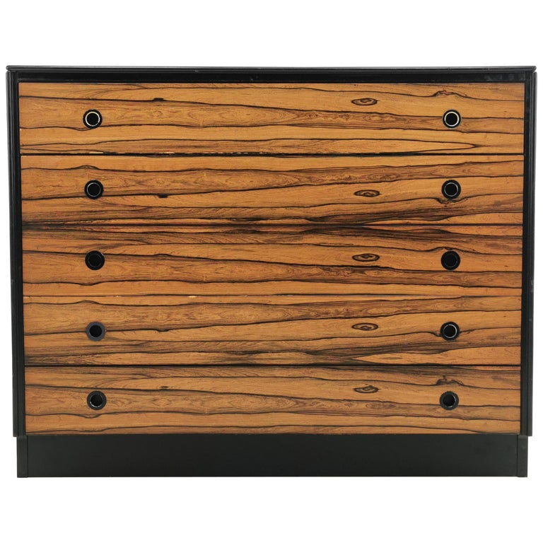 Rosewood Staples Deauville Chest of Drawers Vintage Mid Century, 1960s