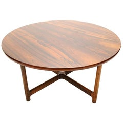 Rosewood Table by Arne Halvorsen for Rasmus Solbeg of Norway