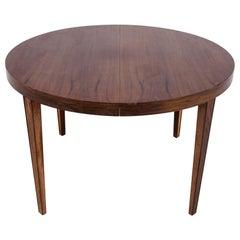 Rosewood Table, Danish Design, 1960s