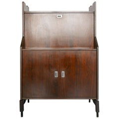 Rosewood Tall Sideboard by Claudio Salocchi for Sormani