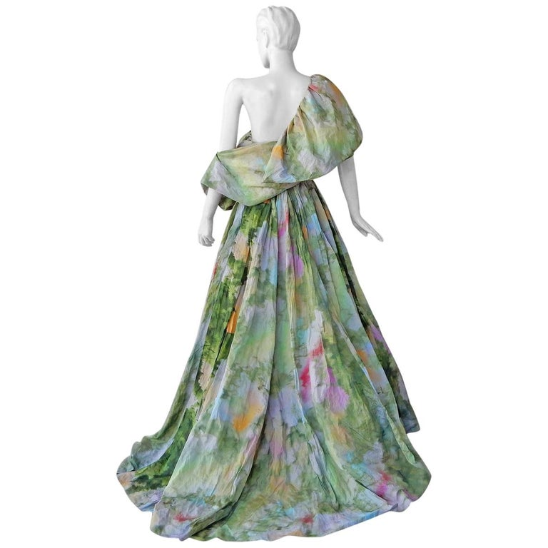 """Rosie Assoulin """"Monet"""" Inspired Runway Gown NWT For Sale"""
