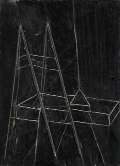 Operator - Contemporary Art, Oil on Canvas, Late 20th Century