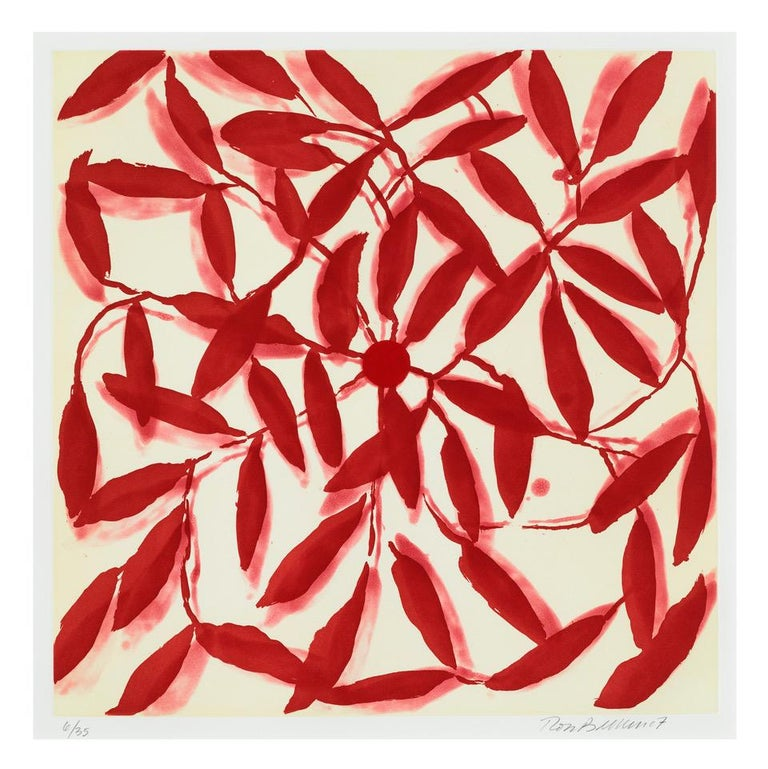Ross Bleckner Abstract Print - Beginners and Others