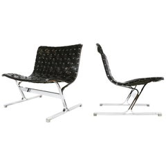 Ross Littel Luar Lounge Chairs for Icf De Padova, Italy, 1965