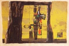 'E Pluribus Unum', Modernist Silk Screen, Walt Disney, San Miguel de Allende