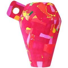 Flip Flop Vase in Plastic by Diederik Schneemann