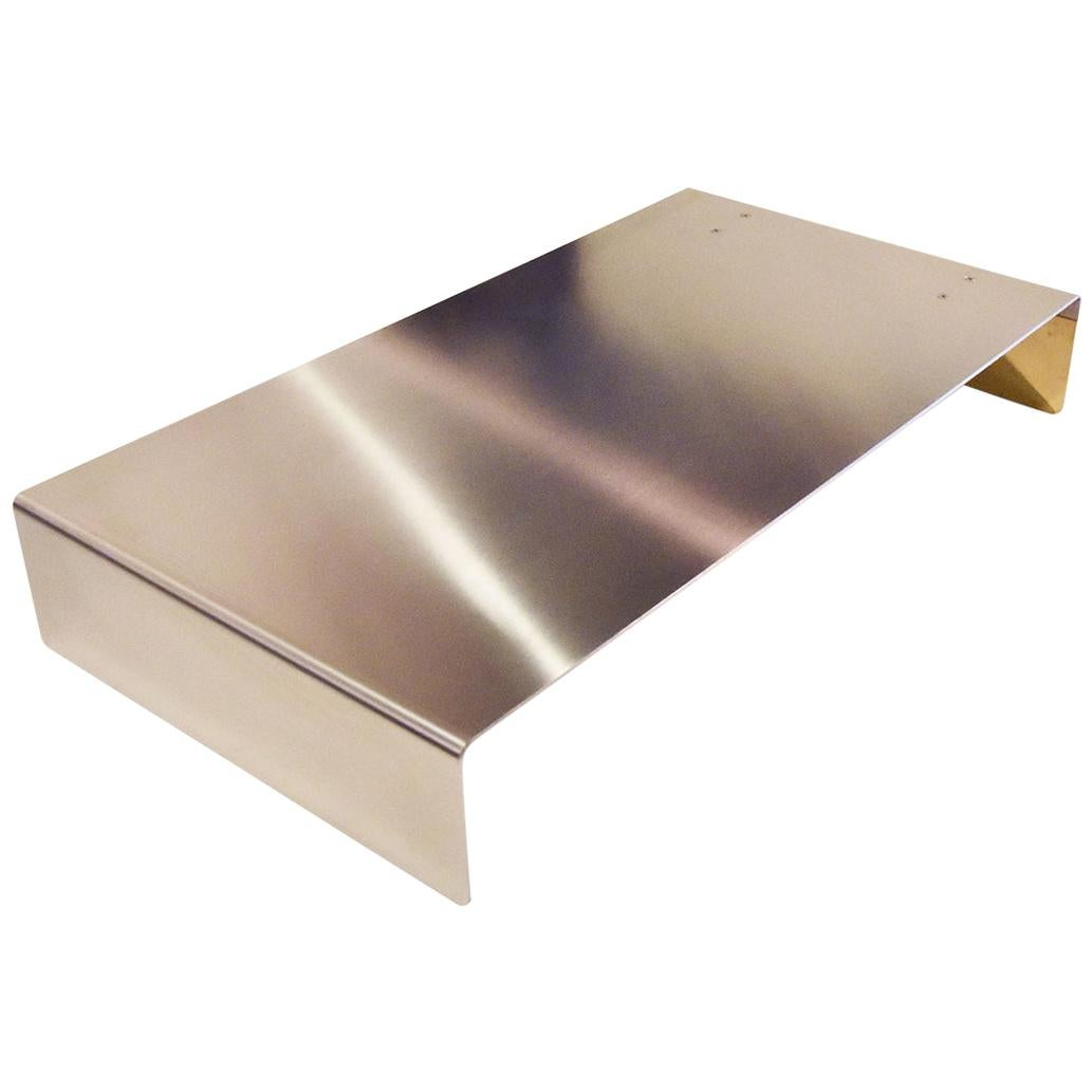 Rossana Orlandi Grace Coffee Table in Brass and Steel by Matteo Casalegno