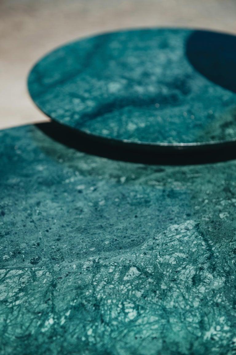 Contemporary Rossana Orlandi Mangrovia Low Table Set Bronze by Francesco Messina for Cypraea For Sale