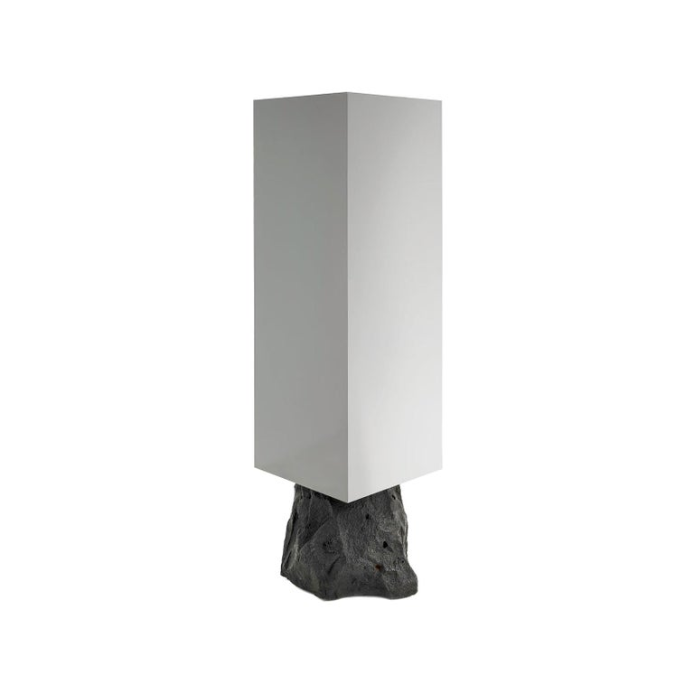 Rossana Orlandi Odyssey V Anthracite Cabinet in Silver by Cypraea For Sale