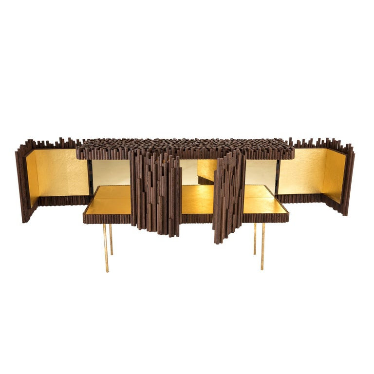 Rossana Orlandi Rochester Sideboard in Wenge by Francesco Messina for Cypraea In New Condition For Sale In Milan, IT