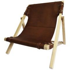 Rossana Orlandi Sdraia Walnut Chair by Matteo Casalegno
