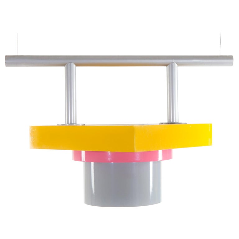 Rossella Metal Ceiling Lamp EU 220 Volts, by Marco Zanini from Memphis Milano For Sale
