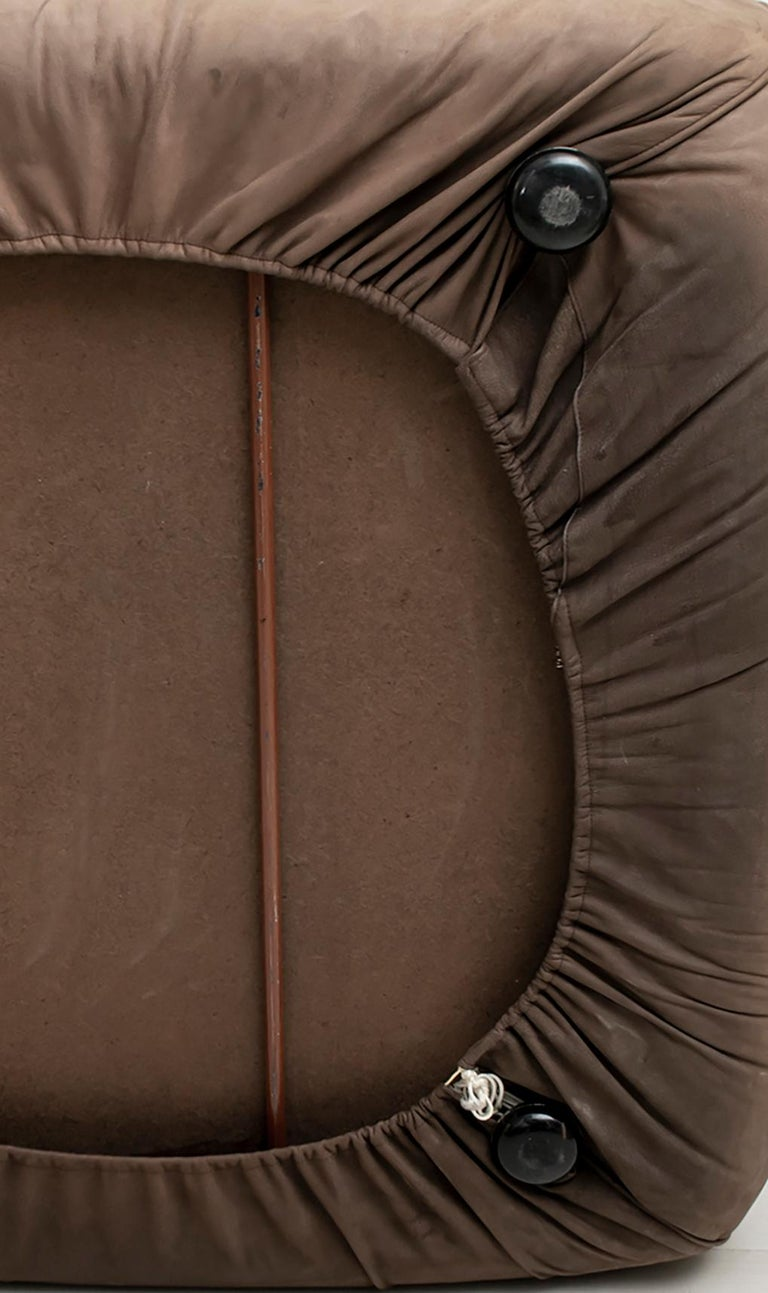 Rossi di Albizzate Modern Italian Elephant Skin Sofa, 1989 For Sale 7