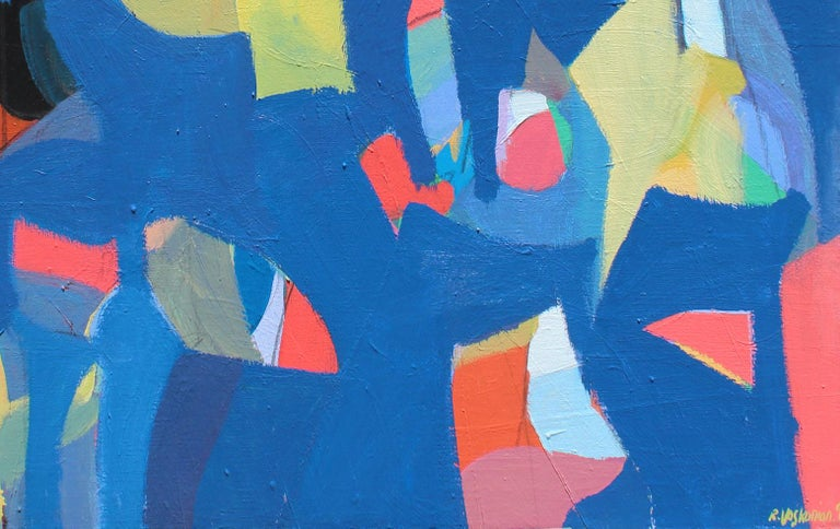 Harmony - Abstract Expressionist Painting by Rostom
