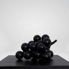 Grape Sculpture Steel Black Abstract