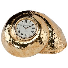 Rosy Top Clock, Gilded
