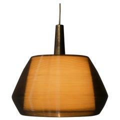 Rotaflex Pendant Designed by Alf Svensson & Yngvar Sandström, 1950s