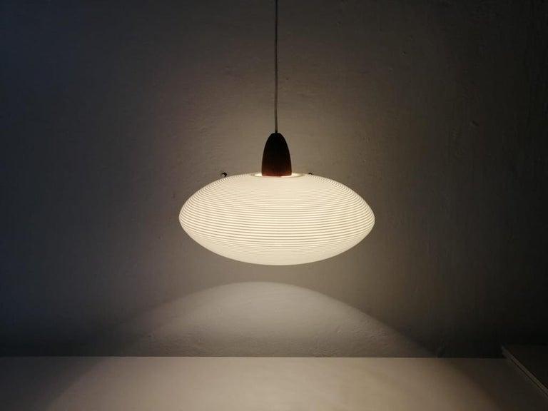 Mid-20th Century Mid-Century Modern Rotaflex Pendant Lamp by Yasha Heifetz, 1960s For Sale
