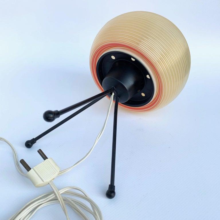 Rotaflex Table Lamp, Disderot ARP Guariche Mortar Motte Design 1950s Table Lamp For Sale 3