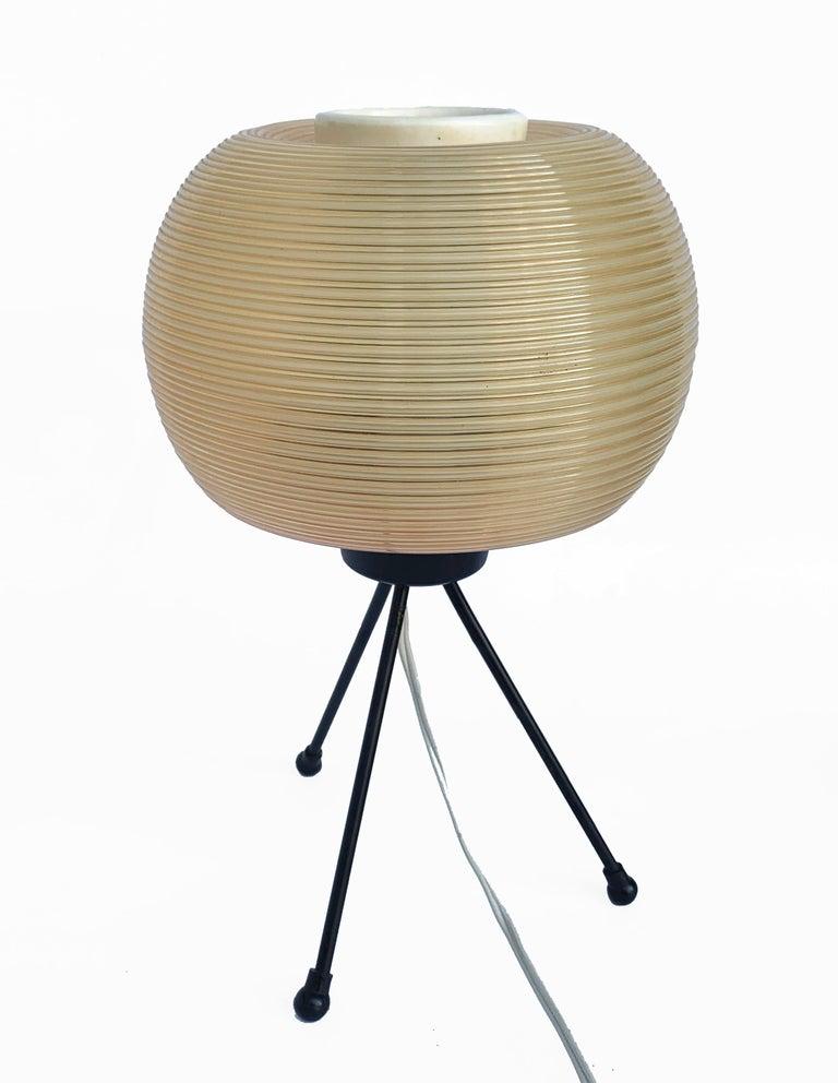 Rotaflex Table Lamp, Disderot ARP Guariche Mortar Motte Design 1950s Table Lamp In Fair Condition For Sale In Roma, IT